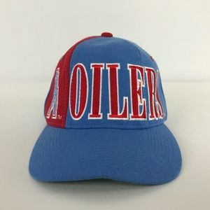 feacdc66d816c STARTER Accessories - Vintage Houston Oilers Snapback Baseball Cap